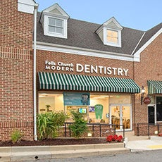 Falls Church Modern Dentistry store front thumb