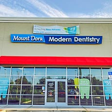 Mount Dora Modern Dentistry store front thumb