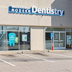 Westborough Modern Dentistry store front thumb